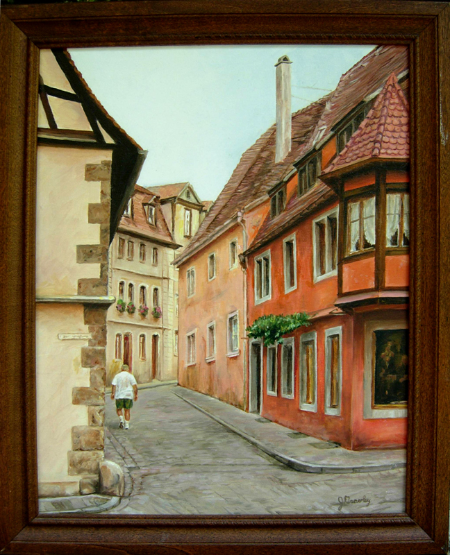 Charley in Rothenburg
