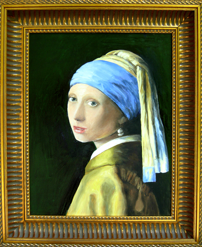 Copy of girl with a pearl earring