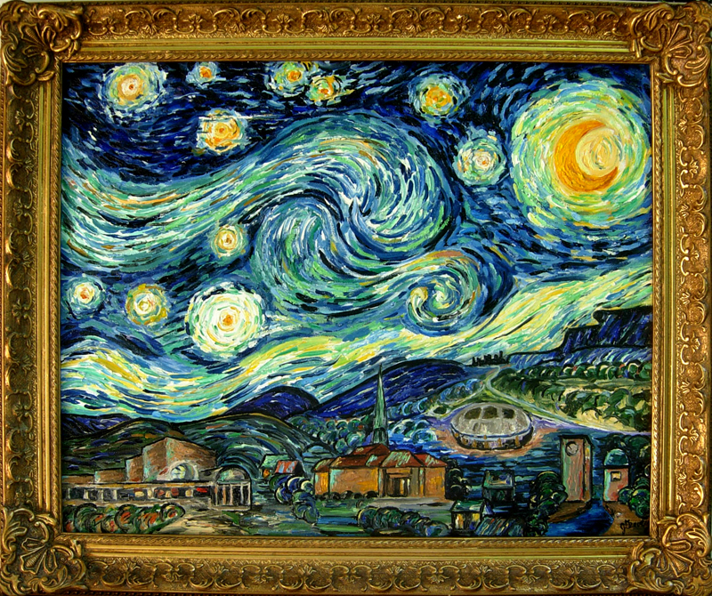 Starry Night in Irving