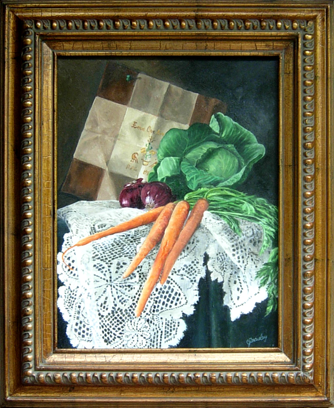 Vegetables and Lace